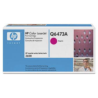 hp Toner pour hp Color LaserJet 3600, magenta