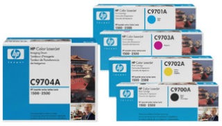 hp Toner pour hp Color Laserjet CP2025, cyan