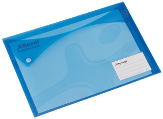 Rexel Porte-documents Xtra Folder, format A4, bleu-