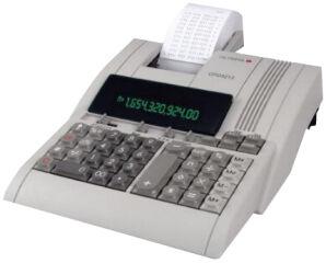 OLYMPIA calculatrice imprimante de bureau CPD-3212S
