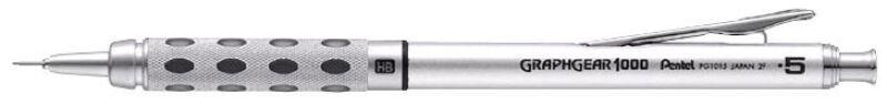 Pentel portemines graphgear 1000 diam tre de mine 0 5 mm for Porte mine pentel graphgear 1000