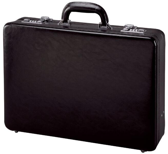 alassio attach case taormina cuir noir achat vente alassio 5317433. Black Bedroom Furniture Sets. Home Design Ideas