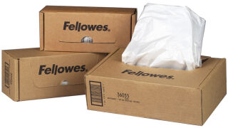 Fellowes Sac à déchets pour destructeur de documents, 227 L