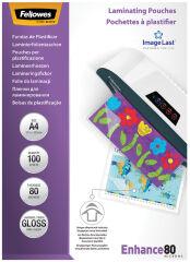 Pochettes de plastification A5 80 microns (x100)