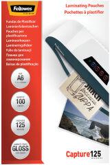 Pochettes de plastification A6 125 microns (x100)