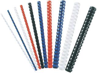 Fellowes Baguette à relier en plastique, A4, 8 mm, blanc