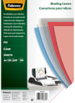 Fellowes Couverture, A4, PVC, 0,30 mm, transparent