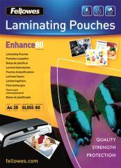 Pochettes de plastification A4 80 microns (x25)