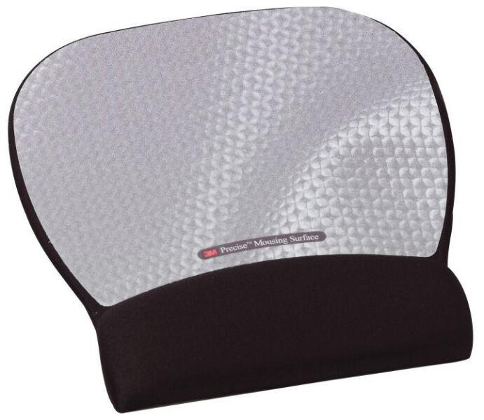 3m repose poignet gel avec tapis de souris noir achat. Black Bedroom Furniture Sets. Home Design Ideas