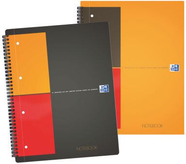 Bloc-notes NoteBook A4 - 80 feuilles - Ligné - Oxford