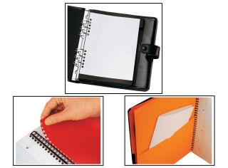 Bloc-notes ActiveBook A5 - 80 feuilles - Ligné - Oxford