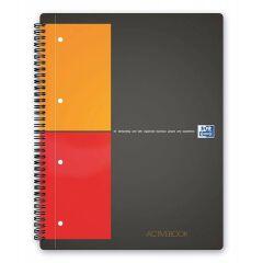 Bloc-notes ActiveBook A4 - 80 feuilles - Petits carreaux - Oxford