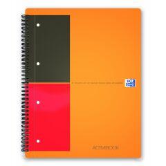 Bloc-notes ActiveBook A4 - 80 feuilles - Ligné - Oxford