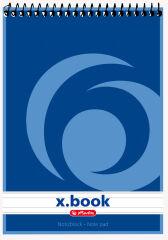 Bloc-notes A7 - 50 feuilles - Petits carreaux