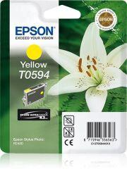 Cartouche jet d'encre origine EPSON Stylus Photo R2400,jaune