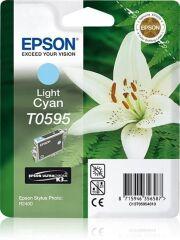 Cartouche jet d'encre origine EPSON Stylus Photo R2400, cyan