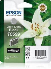 Cartouche jet d'encre origine EPSON Stylus Photo R2400, gris
