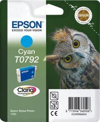 Original EPSON Encre Claria pour Stylus Photo 1400, cyan