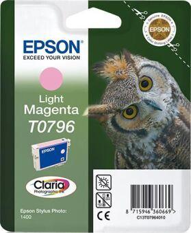 Original EPSON Encre Claria Stylus Photo 1400, magenta light