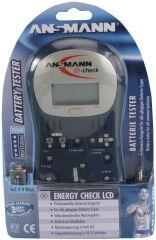 ANSMANN Testeur de piles 'ENERGY CHECK LCD'