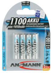 ANSMANN Pile rechargeable NiMH Premium, Micro AAA, 1.100 mAh