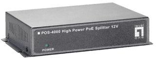 LevelOne High Power PoE Splitter, boîtier en métal en