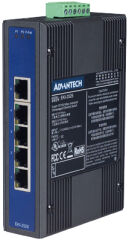 ADVANTECH Switch Unmanaged Industrial Ethernet, 5 Ports