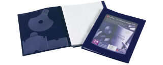 Rexel Protège documents de présentation, format A4, noir