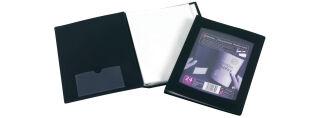 REXEL protège documents de présentation, format A5, noir,