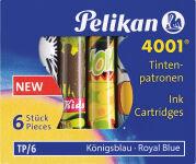 Pelikan Cartouches d'encre TP/F/6, bleu royal