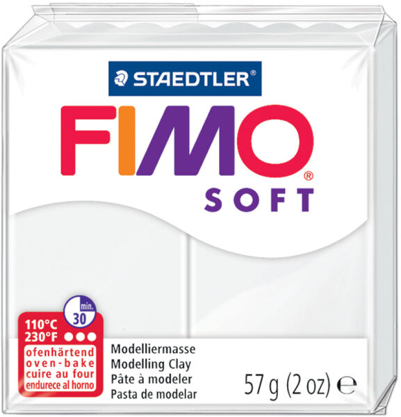 Fimo p te modeler soft cuire vert pomme 57 g achat vente fimo 57802050 - Pate fimo a 1 ...