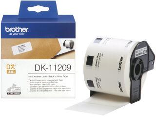 brother DK-11204 Etiquette multi-usage, 17 x 54 mm, blanc