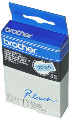 brother TC-Tape TC-201 cassette de ruban, Largeur de