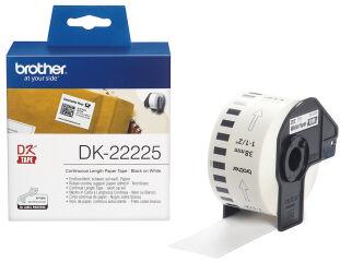 brother DK-22225 Etiquettes en continu papier, 38mm x 30,48m
