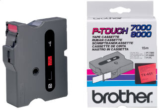 brother TX-Tape TX-251 cassette de ruban, Largeur de