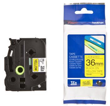 Brother TZ-261 Cassette à ruban noir/blanc - 36 mm x 8m