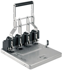 Rexel Perforateur à 4 trous HD4150, noir / argent