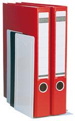 WEDO Serre-livres, (L)140 x (P)120 x (H)240 mm, gris