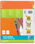 ELBA Intercalaires, uni, A4, multicolore, 12 touches