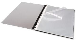 ELBA pochette perforée vario-zipp manageMe!, A4, grainée,