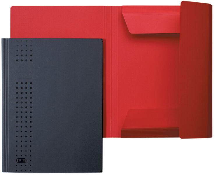 elba chemise rabat chic en carton a4 anthracite achat vente elba 61314772. Black Bedroom Furniture Sets. Home Design Ideas
