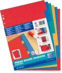 ELBA intercalaires en carton, uni, format A4+, marbré, 6