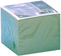 WEDO Bloc cube, 99 x 99 mm, blanc, 700 feuilles