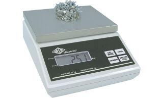 WEDO Pèse-paquets universel, capacité de charge, 12 kg