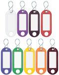 WEDO Porte-clé crochet en S, plastique, assorti