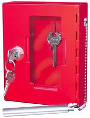 Boîte pour clé de secours - WEDO - Rouge