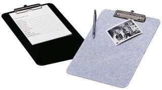 WEDO Porte-bloc, A4, en plastique ABS, granite