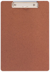 MAUL Porte-bloc A4 en bois, Low cost, pince plate