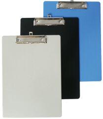 Porte-bloc - A4 - Plastique - Bleu