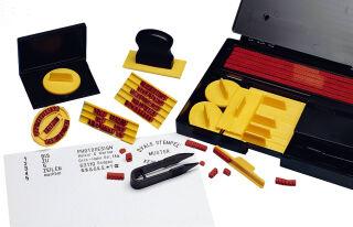WEDO Imprimerie à caractères avec 601 types